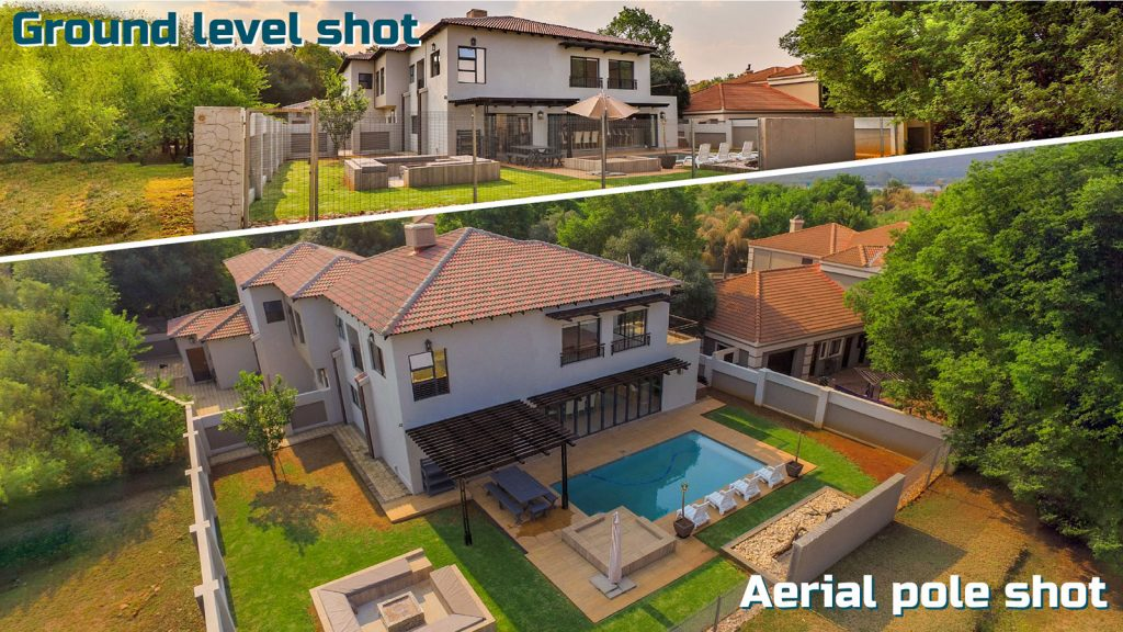 Homes with aerial shots sell faster