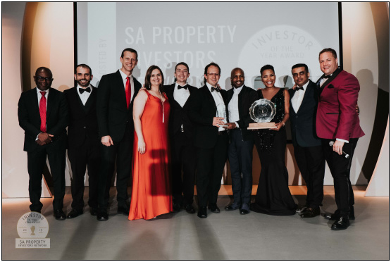 The group of award winners at last year's event